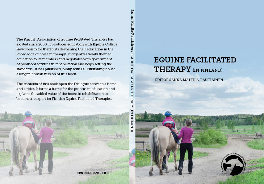 equine facilitated therapy book covers